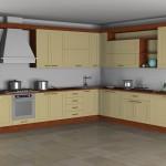 Composizione cucina con elementi RhinoInterior